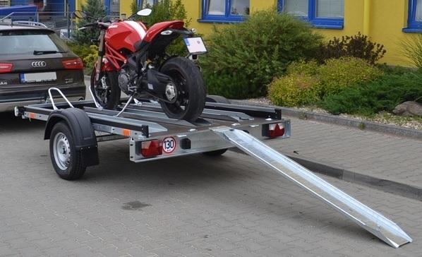 Půjčovna přívěsu na moto
